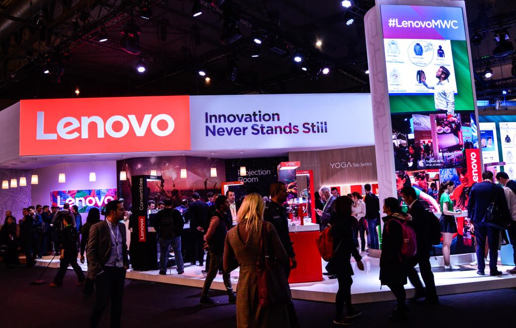 Lenovo Stand beim MWC16 ⒸAlin Gabriel Gramescu