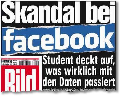 Skandal bei Facebook